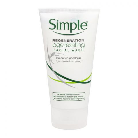 Simple Regeneration Age Resisting Facial Wash, 150ml