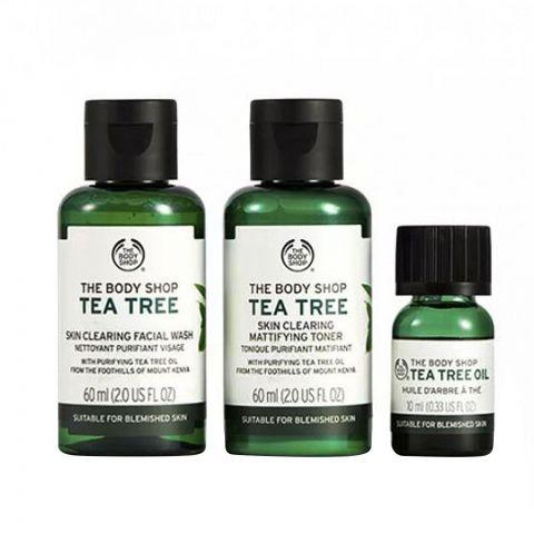 The Body Shop Tea Tree Skin Purifying Kit, 97786