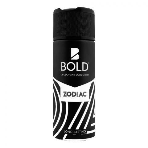Bold Zodiac Long Lasting Deodorant Body Spray, For Men, 150ml