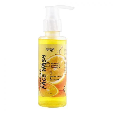 Spa in a Bottle Vitamin C  Face Wash, 100ml