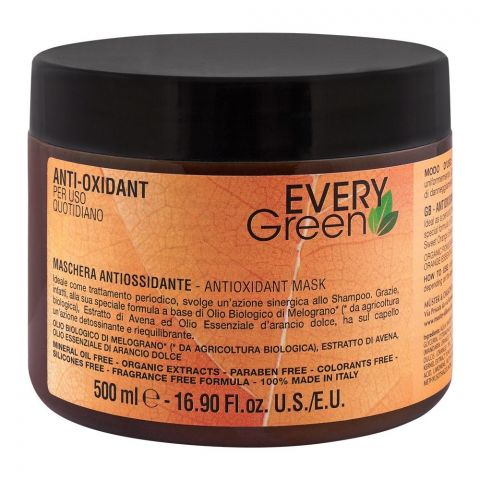 Every Green Anti-Oxidant Hair Mask, Paraben & Fragrance Free, 500ml