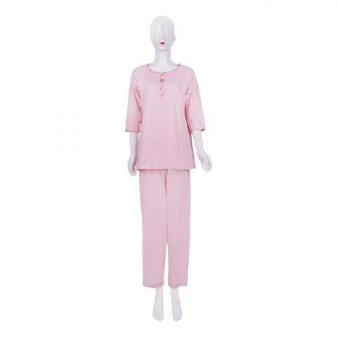 IFG Women's Pajama Set, Pink, PS-103