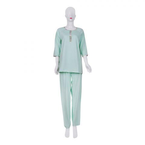IFG Women's Pajama Set, Green, PS-103