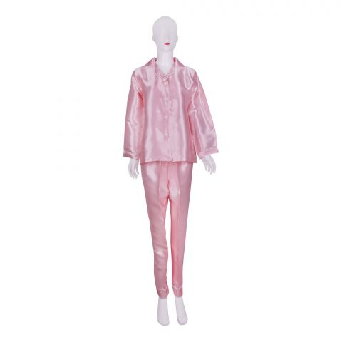 IFG Women's Pajama Set, Pink, PS-104