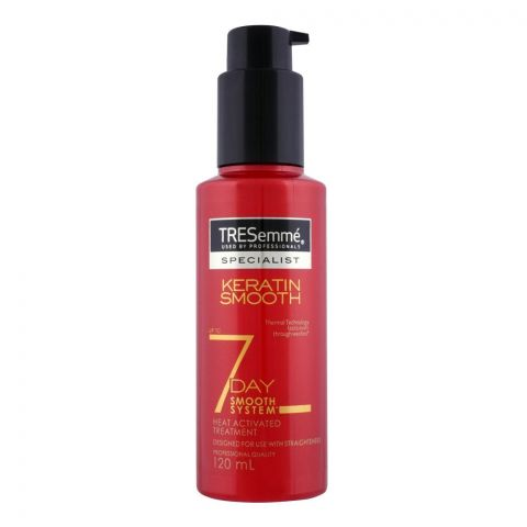 Tresemme Keratin 7 Days Smooth Heat Activated Hair Treatment, 120ml