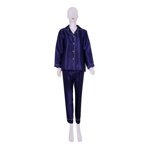 IFG Women's Pajama Set, Blue, PS-104