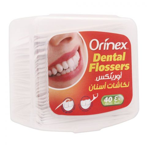 Orinex Dental Flossers, 40-Pack, JS-2040B2