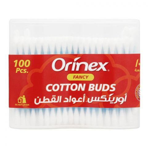 Orinex Fancy Cotton Buds, 100-Pack