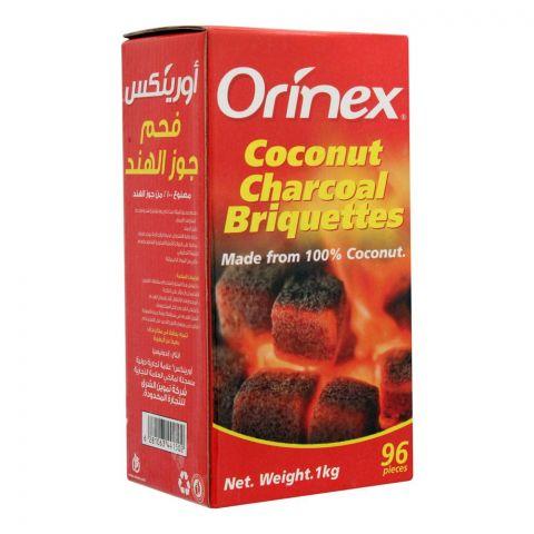 Orinex Coconut Charcoal Briquettes, 96-Pack