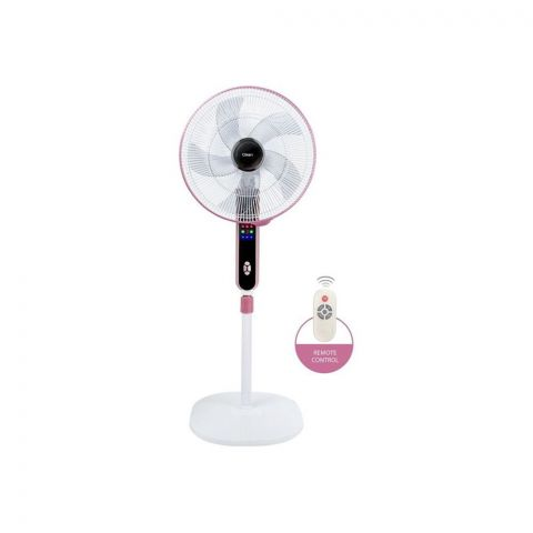 Clickon Turbo Bliss Stand Fan, 16 Inches, With Remote Control, CK-28126