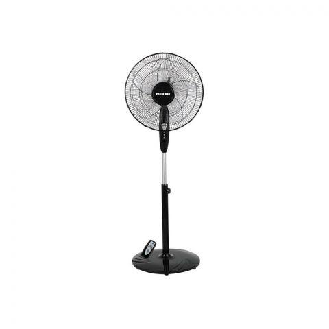 Nikai Pedestal Fan With Remote, 16 Inches, NPF-161R