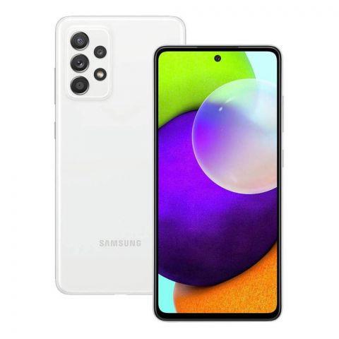 Samsung Galaxy A72 8GB/128GB Smartphone, Awesome White, SM-A72FF/DF