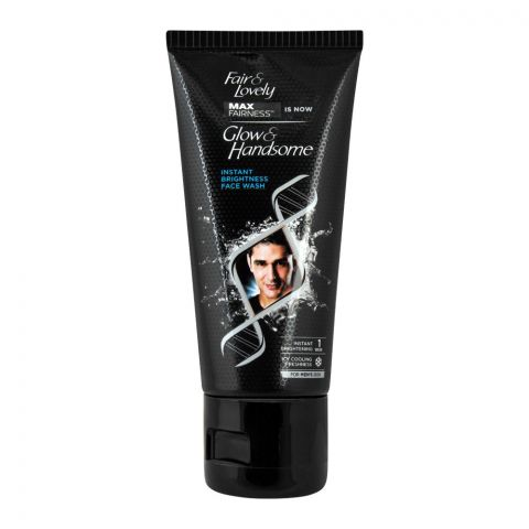 Glow & Handsome Instant Brightness Face Wash, 50g