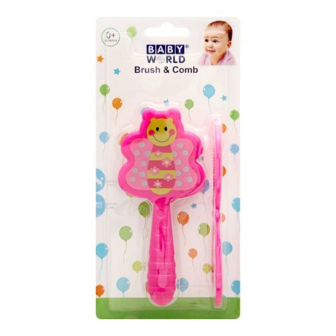 Baby World Brush & Comb, 0m+, BW4016