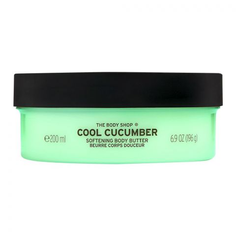The Body Shop Cool Cucumber Softening Body Butter, 200ml