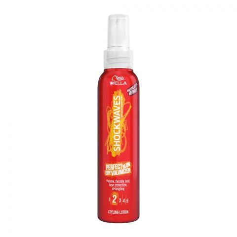 Wella Perfect Blow Dry Volumizer Styling Lotion Hair Spray, No. 2, 150ml