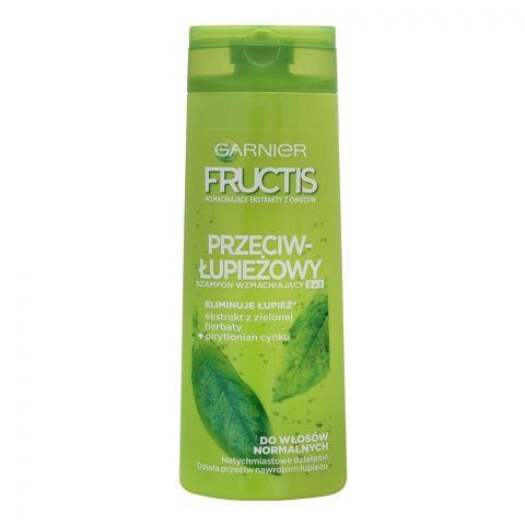 Garnier Fructis Fortifying Fruit Extract Dandruff Shampoo, 400ml
