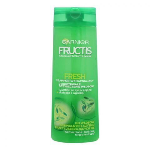 Garnier Fructis Fresh Strengthening Shampoo, 400ml