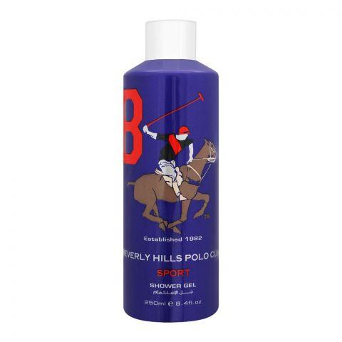 Beverly Hills Polo Club Sport 8 Shower Gel, 250ml