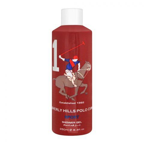 Beverly Hills Polo Club Sport 1 Shower Gel, 250ml