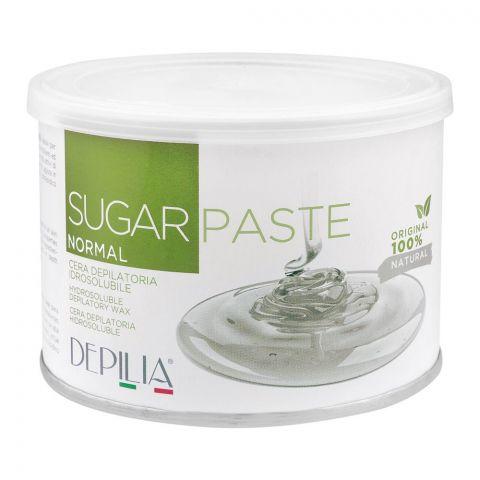 Depilia Sugar Paste Hydrosoluble Depilatory Wax, Normal, 500ml