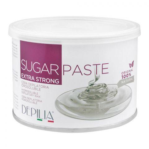 Depilia Sugar Paste Hydrosoluble Depilatory Wax, Extra Strong, 500ml