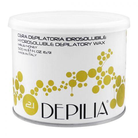 Depilia Honey 2.1 Hydrosoluble Depilatory Wax, 500ml