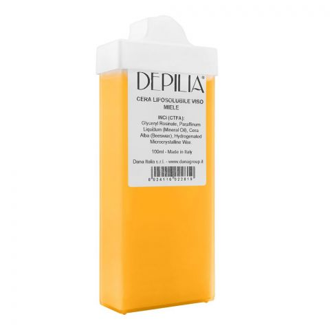Depilia Honey Liposoluble Face Roll-On Wax, 100ml