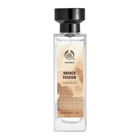 The Body Shop Bronze Passion Eau De Toilette, Fragrance For Women, 50ml
