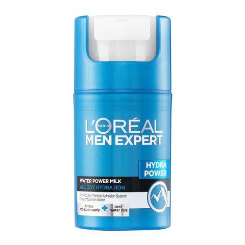 L'Oreal Paris Men Expert Hydra Power Water Power Milk, 50ml