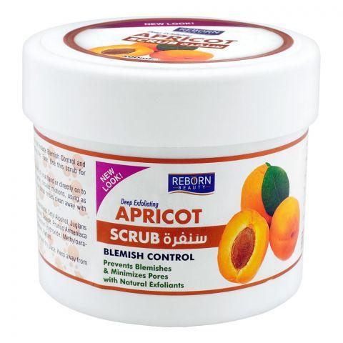 Reborn Beauty Apricot Blemish Control Scrub, 500ml