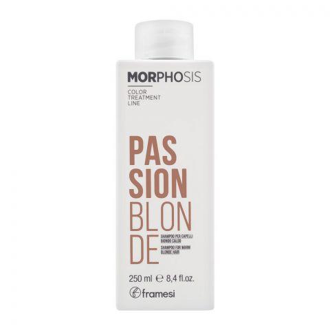 Framesi Morphosis Passion Blonde Shampoo, 250ml