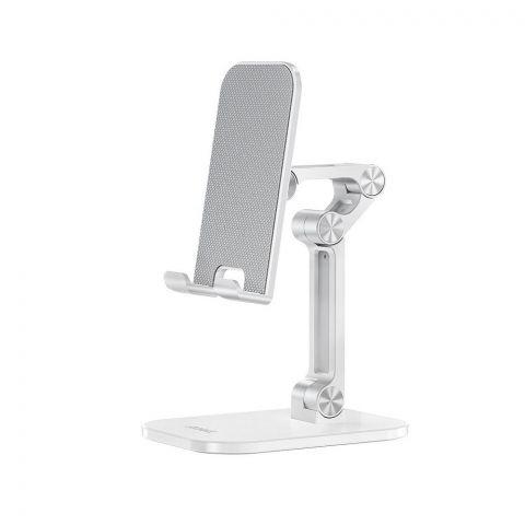 Hoco PH34 Excelente Double Folding Desktop Mobile/Tablet Stand, White