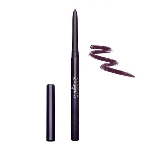 Clarins Paris Waterproof Pencil Long-Lasting Eyeliner, 04 Fig