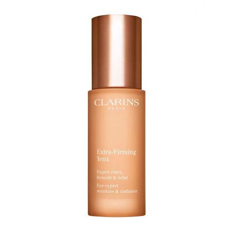 Clarins Paris Extra-Firming Yeux, Eye Expert Wrinkles & Radiance Eye Serum, 15ml