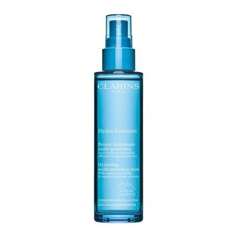 Clarins Paris Hydra-Essentiel Hydrating, Multi-Protection Mist, 75ml