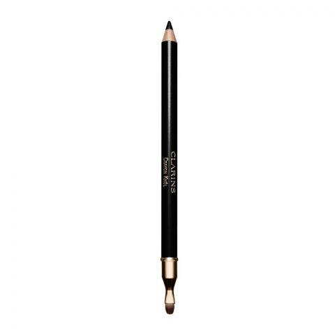 Clarins Paris Crayon Khol Intense Line Eye Pencil, 01 Extreme Black
