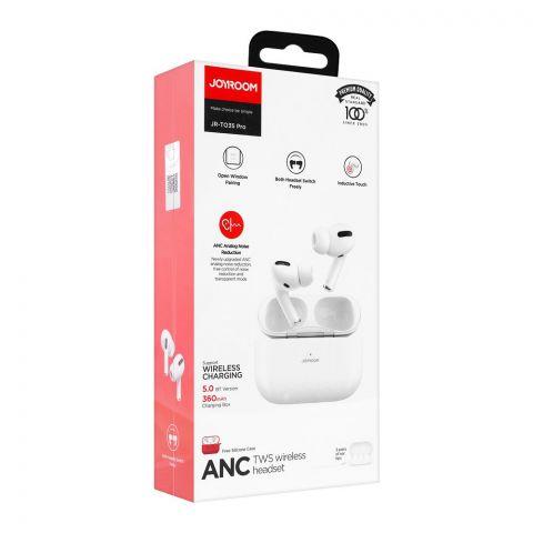 Joyroom Analog Noise Reduction TWS Wireless Headset, White, JR-T03S Pro