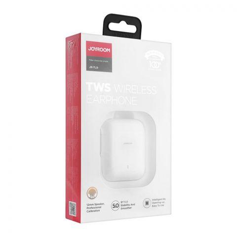 Joyroom TWS Wireless Earphone, White, JR-TL9