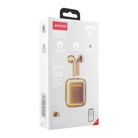 Joyroom Extreme Series Bilateral TWS Wireless Earbuds, Gold, JR-T03S