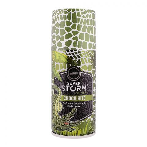 Super Storm Croco Bite For Men Deodorant Body Spray, 150ml