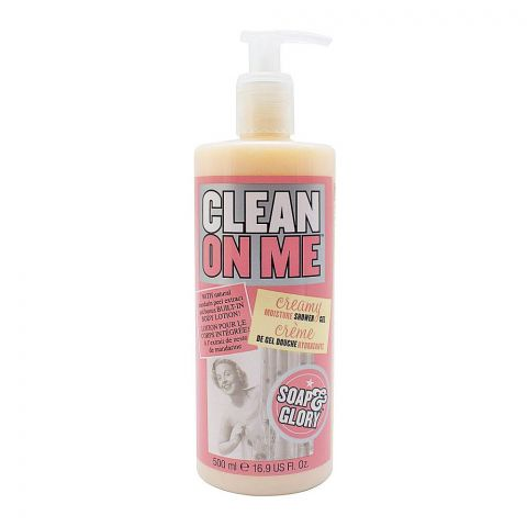 Soap & Glory Clean On Me Creamy Moisture Shower Gel, 500ml