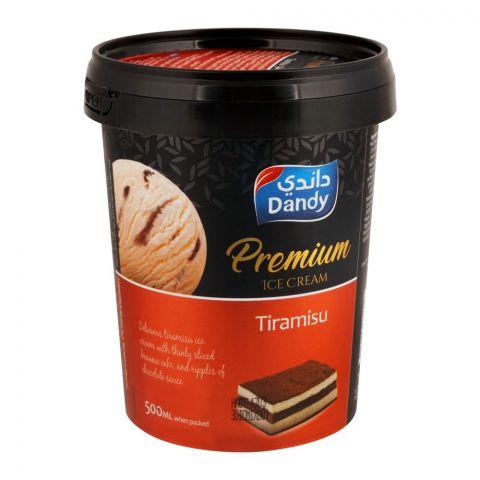 Dandy Premium Tiramisu Ice Cream 500ml