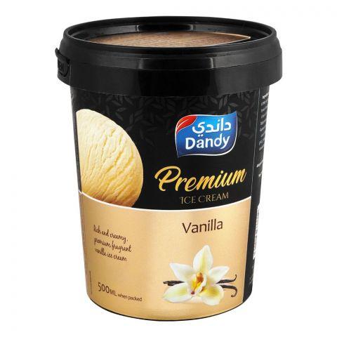 Dandy Premium Vanilla Ice Cream 500ml