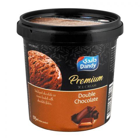 Dandy Premium Double Chocolate Ice Cream 125ml