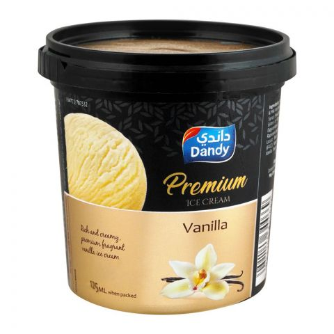 Dandy Premium Vanilla Ice Cream 125ml