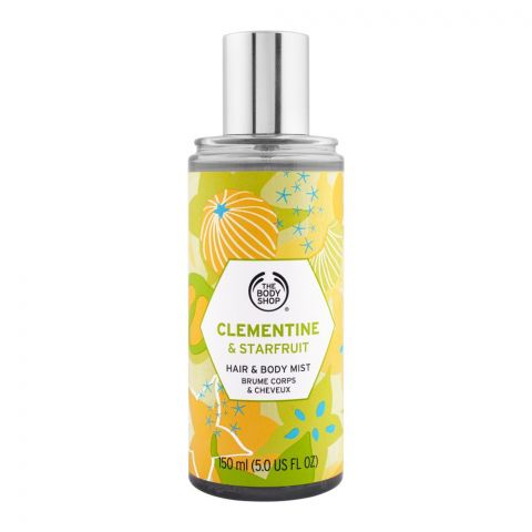 The Body Shop Clementine & Star Fruit Hair & Body Mist, 150ml