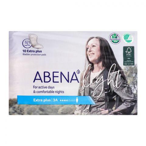 Abena Light Bladder Protection Pads, Extra Plus, 10-Pack
