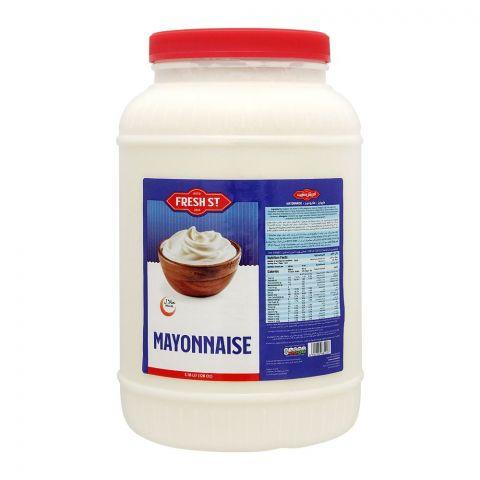 Fresh Street Mayonnaise Jar, 128Oz, 3.78Ltr