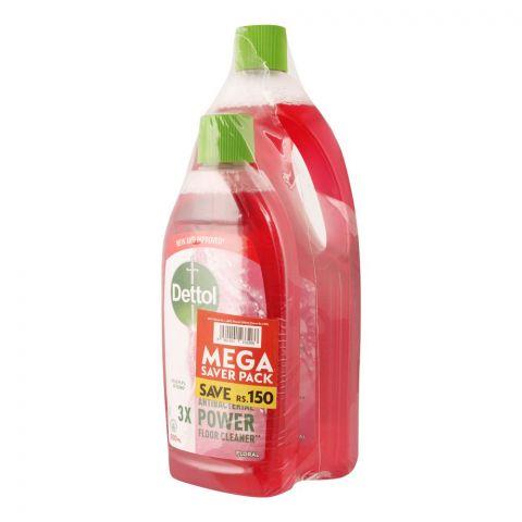 Dettol Multi-Purpose Floral Cleaner, Mega Saver Pack, 1000ml